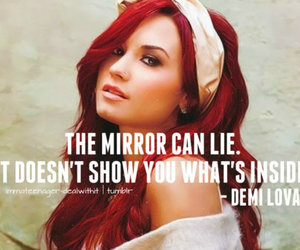 demi lovato, demi, and quote image