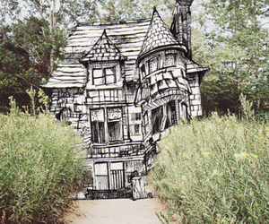 house, drawing, and art image