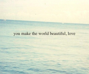 beautiful, text, and ocean image