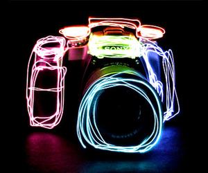 camera, sony, and light image