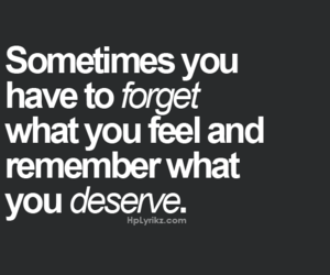 feelings, deserve, and love image