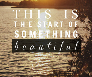quote, beautiful, and start image