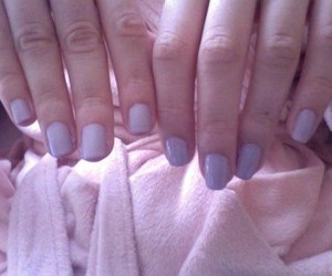nails, pale, and pastel image