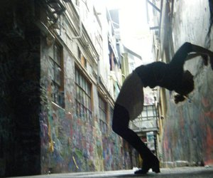 flip, girl, and photography image