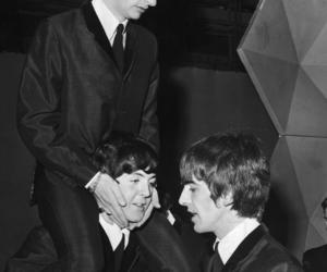 george harrison, Paul McCartney, and ringo starr image