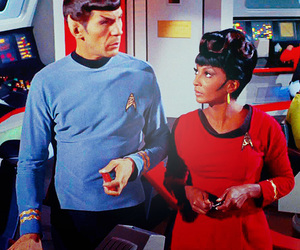 spock, star trek, and uhura image