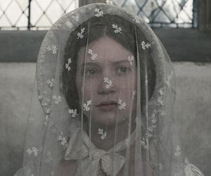 bonnet, bride, and victorian image