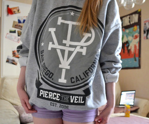 pierce the veil, sweater, and tumblr image