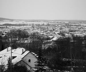 Houses and winter image