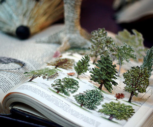book and tree image