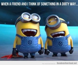 best friend, best friends, and minions image