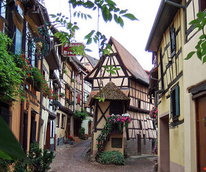 france, street, and travel image