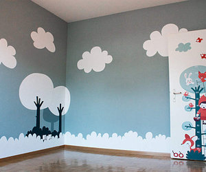 0, wall, and baby room image