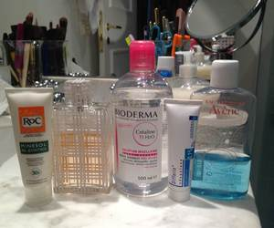 roc, bioderma, and differin image