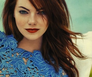 emma stone, wallpaper, and Hot image