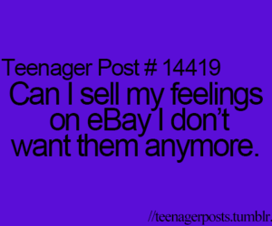 ebay, feelings, and quote image