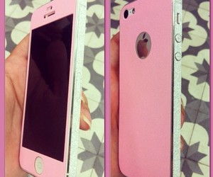 pink and iphone5 image