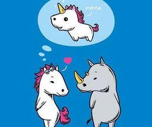unicorns and unicornios image