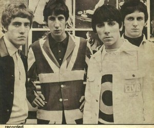 keith moon, music, and Pete Townshend image