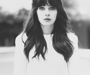 zooey deschanel, hair, and new girl image
