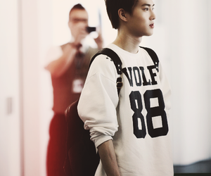 suho, exo, and exo-k image