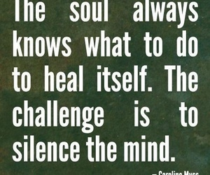 soul, quote, and mind image