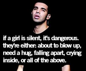 Drake, quote, and girl image