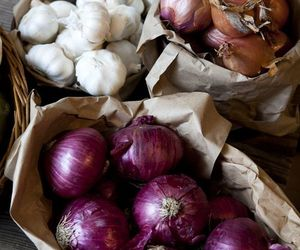 food, onion, and vegetable image