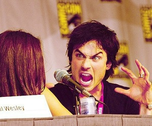 ian somerhalder, tvd, and funny image