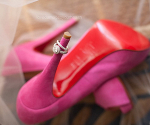 ring, shoes, and pink image