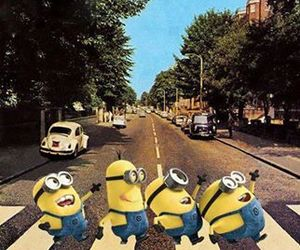 minions, beatles, and funny image