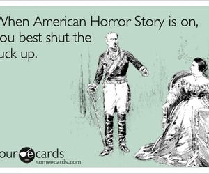 american horror story and shut up image