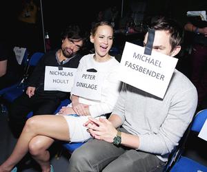 Jennifer Lawrence, nicholas hoult, and peter dinklage image