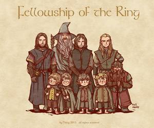 LOTR, Legolas, and frodo image
