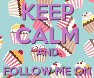 keep calm, cute, and we heart it image
