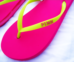 pink, summer, and girly image