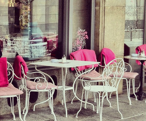 pink and cafe image