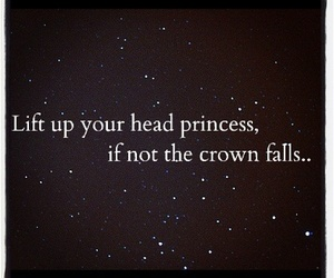 princess, quote, and crown image