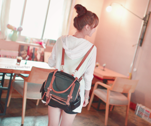 asian fashion, bag, and style image