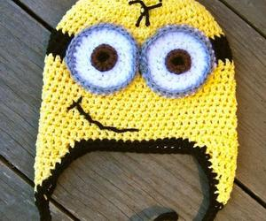 minions, hat, and yellow image