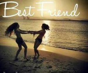 best friends, filles, and girls image