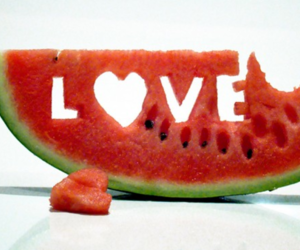 watermellon and love image