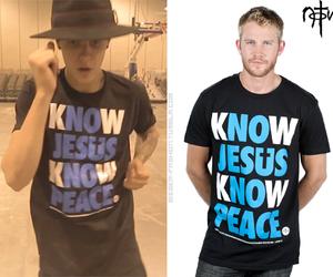 fashion, t-shirt, and justin image