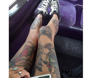fashion, ink, and rings image