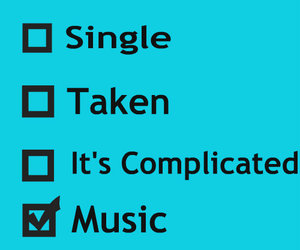 music, quote, and single image