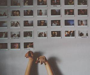 polaroid and vintage image