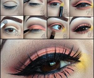 beutiful, eye makeup, and eyeliner image