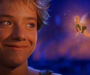 peter pan, jeremy sumpter, and tinkerbell image