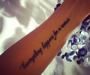tattoo, quote, and everything image
