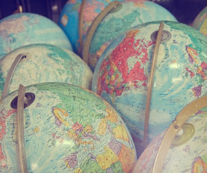 geography, globe, and globes image